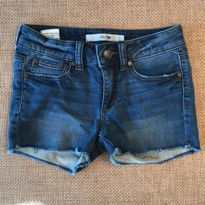 Joe's Jeans cut off girls shorts size 7
